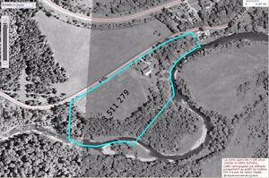 Estrie: Melbourne fermette 10 acres résidence rénovée