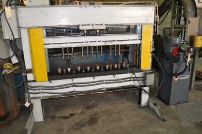 50 Ton Wainbee H Frame Hydraulic Press 8 Stroke 17 Open Height 70 Lr X 10 Fb