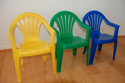 CHILDREN'S STACKABLE CHAIRS Kyneton Macedon Ranges Preview