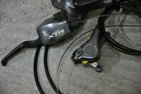 Shimano xtr m965 brake / calipers / shifter 3*9spd combo