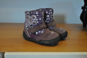 Geox Girls Size 6 Winter Boots