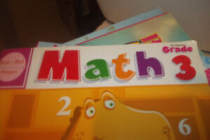 Kids math and learning books.