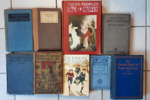 A Selection of Vintage Books