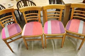 SALE NOW ON!! Set Of 4 Kitchen Chairs - Can Deliver For £19