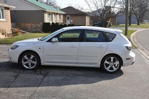 2006 Mazda3 Sport GT Hatch-Leather, loaded, 32k on 2.5L Motor
