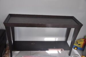 """Wood Console/Sofa Table - 55"""" Wide"""