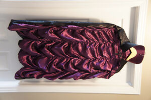 Cape with purple ruffles (Fits Teen to Adult) Kitchener / Waterloo Kitchener Area image 1