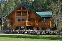Hand Crafted Log Home MLS® 10097242