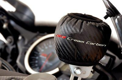 125 Faseroptik (Kohlenstoff Faser Optik Bremsbehälter Schutz - Yamaha Yzfr 125)