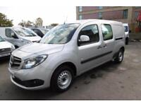 2013 MERCEDES CITAN 109 CDI DUALINER X-LWB CREW VAN 5-SEAT WITH AIR CONDITIONING