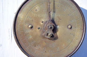 brass face spring balance weigh scale St. John's Newfoundland image 3
