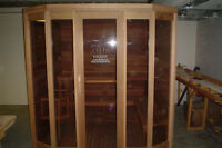 CUSTOM MADE - HIGH END DELUXE SAUNA - CLEARANCE - BRAND NEW