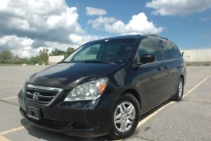 2007 HONDA ODESSY EX-L 8 PASSANGERS DVD/LEATHER/ SAFETY INCLUDED