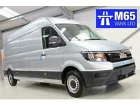 AUTO 2020 BRAND NEW MAN TGE AUTOMATIC VW CRAFTER SILVER LWB LONG WHEELBASE 140PS