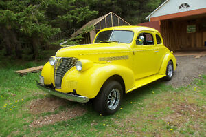 1939 chev coupe 327 cid -300hp