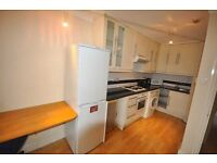 Nice 1 double bedroom flat open plan lounge fitted kitchen bathroom GCH wood flooring near UCL 1Sept