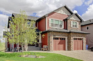 Stunning, Unique, Golf Course Home in Okotoks