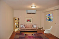 One Bedroom Basement Apartment for Rent Walk to Square One