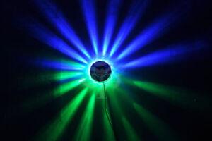 48 LEDS ROTATING STAGE LIGHT DISCO DJ DANCE PARTY STUDIO 8W RGB