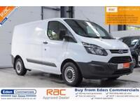 2016 66 FORD TRANSIT CUSTOM 2.2 290 LR P/V 1D 99 BHP DIESEL PANEL VAN LOW MILES