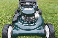 6 HP RECONDITIONED BAGGER LAWNMOWER