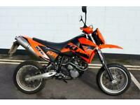 2006 KTM 640 SUPERMOTO LC4 - ONLY 6546 MILES