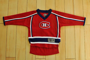 Baby Habs Jersey/Maillot du Canadiens du Montreal 18M
