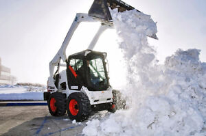 Snow Removal Skid-Steer Operators - $25/h to start