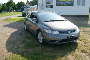 2008 HONDA CIVIC COUPE EX-L 2 COUPE LEATHER MANUEL