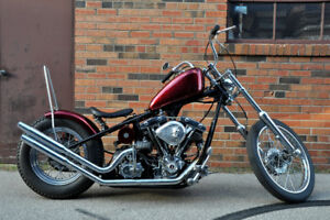 2013 Custom HD Bobber for sale