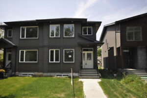 Brand New Half Large Duplex 120 Ave and 122 St