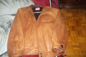 Motorcycle-Leather men`s jacket