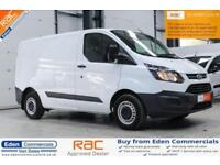 2015 65 FORD TRANSIT CUSTOM 2.2 290 LR P/V 99 BHP DIESEL WHITE PANEL VAN