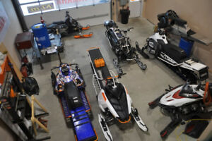 Preseason Service, Maintenance, Repairs and Rebuilds All Sleds