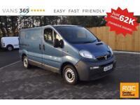 Vauxhall Vivaro NO VAT ONLY 62K MILES VERY CLEAN TWIN SIDE LOADING DOORS DI 2700