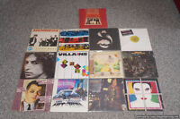 Vinyl Records David Bowie, Bob Dylan, Elton John, The Police....