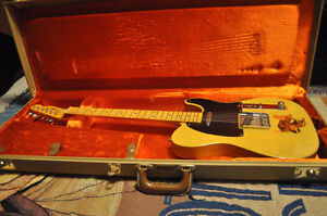 Fender Hot Rod '52 Tele with Upgrades, Extras & OHSC