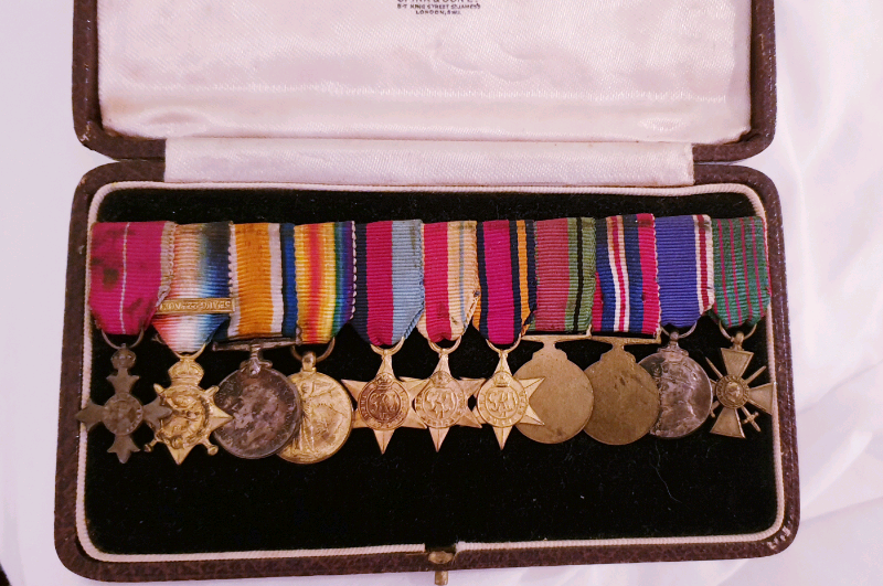 Group of 11 miniature medals in its original spink case(SOLD) | in  Biddulph, Staffordshire | Gumtree