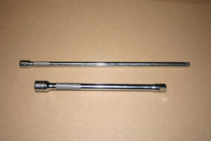 """Snap On Tools 3/8"""" and 1/4"""" Drive Extensions - Just Like New"""