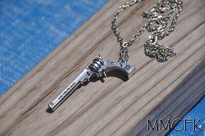 Supernatural Colt Themed Dean Winchester Gun Necklace US