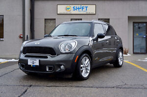 2014 MINI COOPER COUNTRYMAN ALL4S, PREMIUM AND STYLE PACKAGES