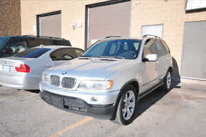 2003 BMW X5 4.4i SUV-NAVIGATION-SUNROOF-SPORT SEATS-CERTIFIED