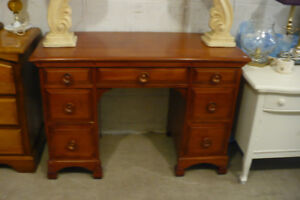 Solid Wood Desk Maple Office Student Hobby Kids Used Furniture