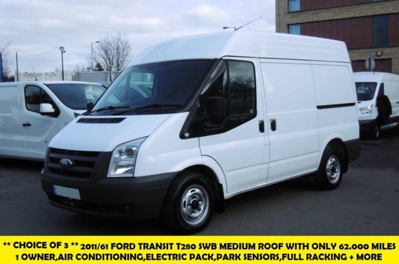 2011 FORD TRANSIT 280 SWB MEDIUM ROOF DIESEL VAN WITH AIR  CONDITIONING,PARKING S | in Surbiton, London | Gumtree