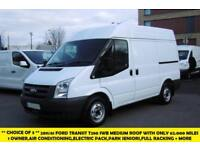 2011 FORD TRANSIT 280 SWB MEDIUM ROOF DIESEL VAN WITH AIR CONDITIONING,PARKING S