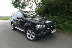 2005 05 BMW X5 3.0d Sport AUTO SAT NAV DIGITAL TV SIDE STEPS PRIVACY GLASS 6CD