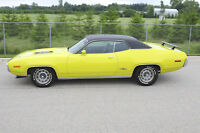 1971 Plymouth GTX, Numbers Matching, Florida Car, 2 Fender Tags