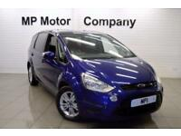 2014 64 FORD S-MAX 1.6 ZETEC TDCI S/S 5D 115 BHP DIESEL 7 SEATER MPV, 1 OWNER,