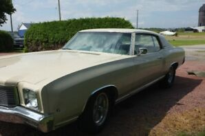 1971 Monte Carlo With true low miles