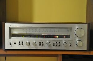 Technics turntable and receiver for sale